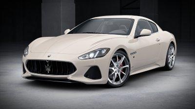 2018 Maserati GranTurismo Bianco Eldorado