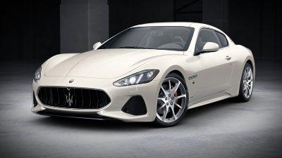 2018 Maserati GranTurismo Bianco Fuji