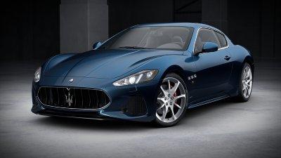 2018 Maserati GranTurismo Blu Assoluto