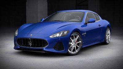 2018 Maserati GranTurismo Blu Inchiostro