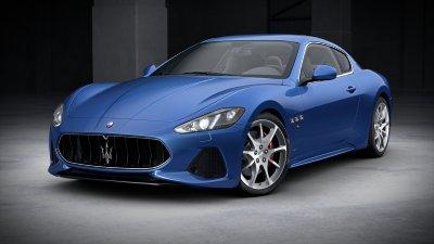 2018 Maserati GranTurismo Blu Sofisticato