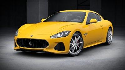 2018 Maserati GranTurismo Giallo Granturismo