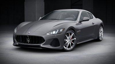 2018 Maserati GranTurismo Grigio Alfieri