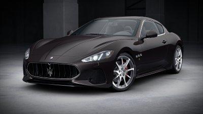 2018 Maserati GranTurismo Grigio Granito