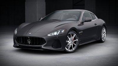 2018 Maserati GranTurismo Grigio Lava