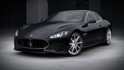 2018 Maserati GranTurismo Nero Carbonio