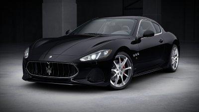 2018 Maserati GranTurismo Nero
