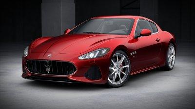 2018 Maserati GranTurismo Rosso Italiano
