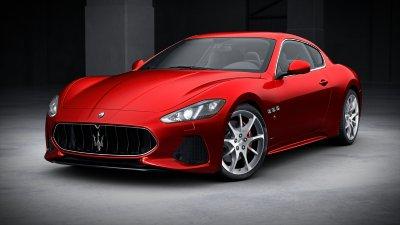 2018 Maserati GranTurismo Rosso Magma
