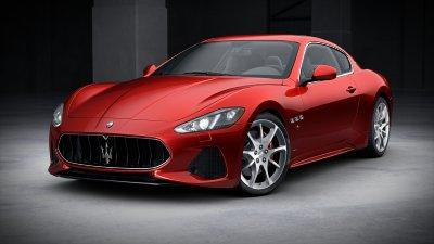 2018 Maserati GranTurismo Rosso Trionfale