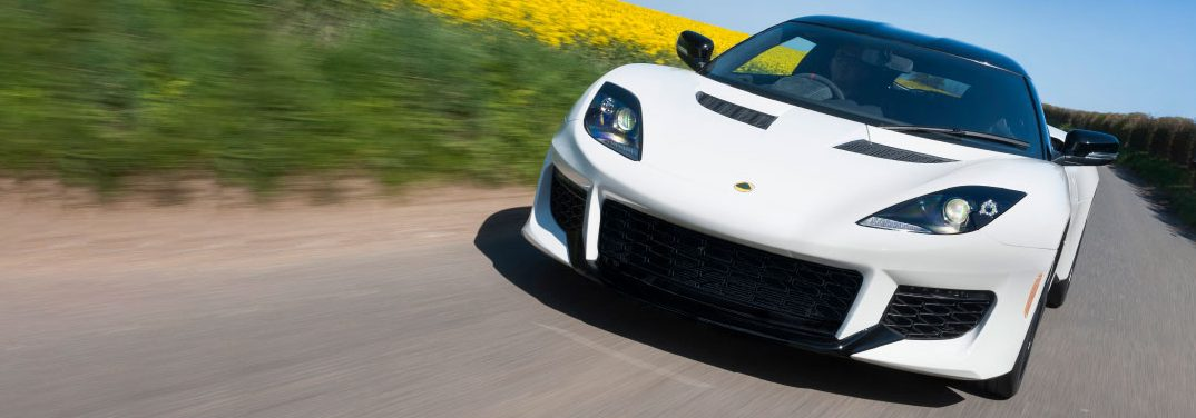 exterior front 2017 Lotus Evora 400