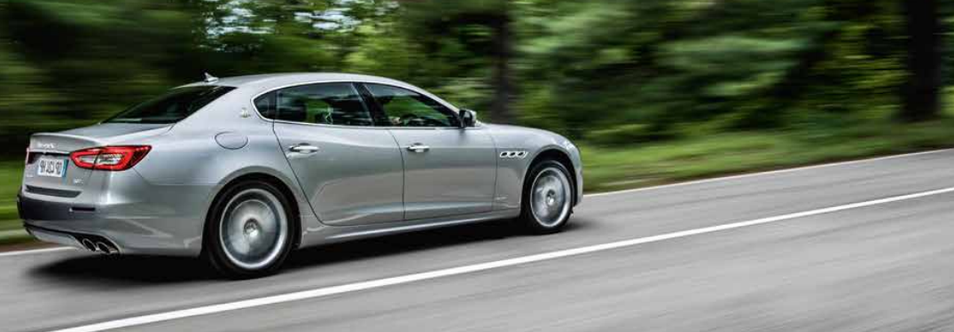 full view of the 2018 Maserati Quattroporte