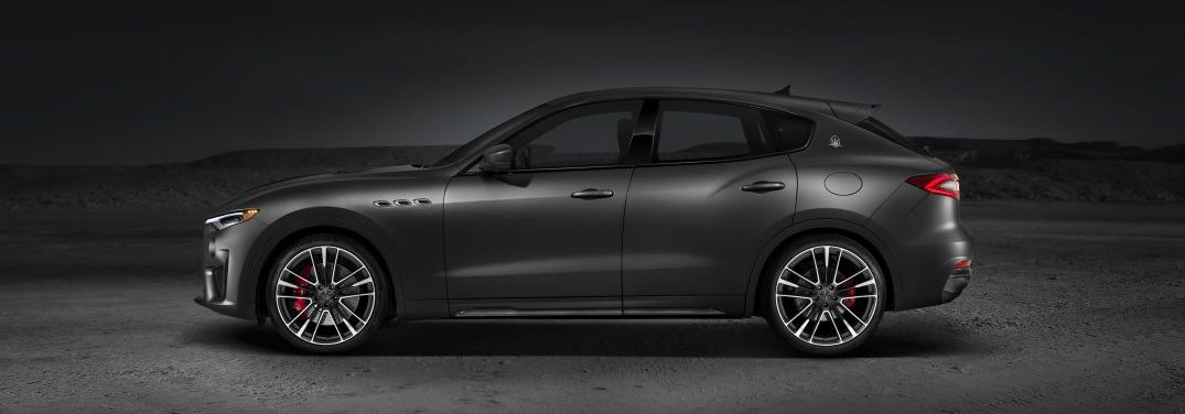 profile view of the 2018 Maserati Levante Trofeo