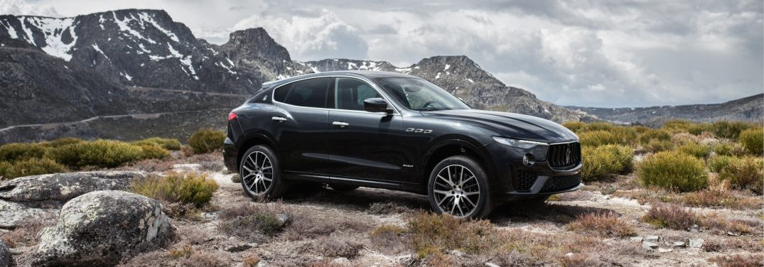 full view of the 2019 maserati Levante gransport