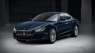 2019 Maserati Ghibli Blu Nobile Metallic