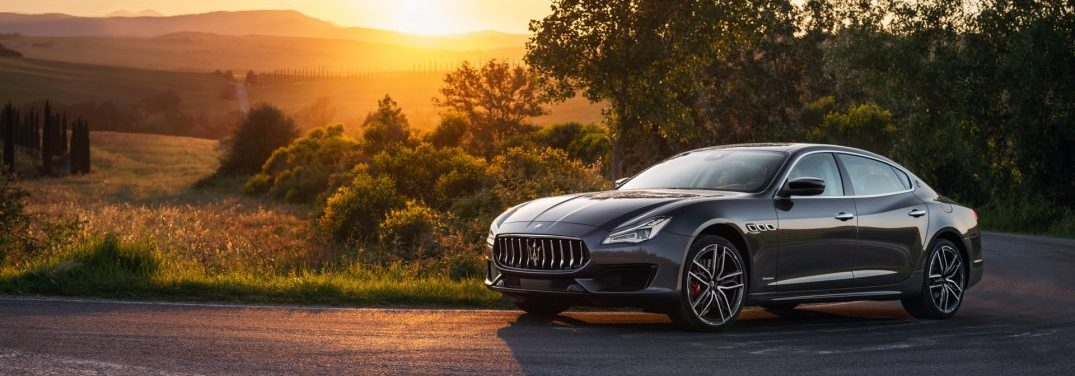 full view of the 2019 Quattroporte