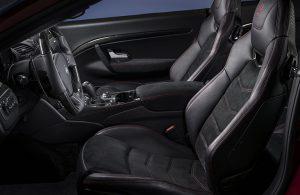 2019 Maserati GT Convertible front interior