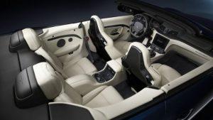 interior of the 2019 Maserati GT Convertible
