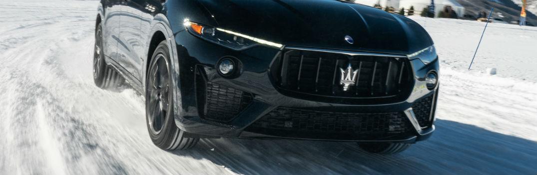 Maserati Levante front grille