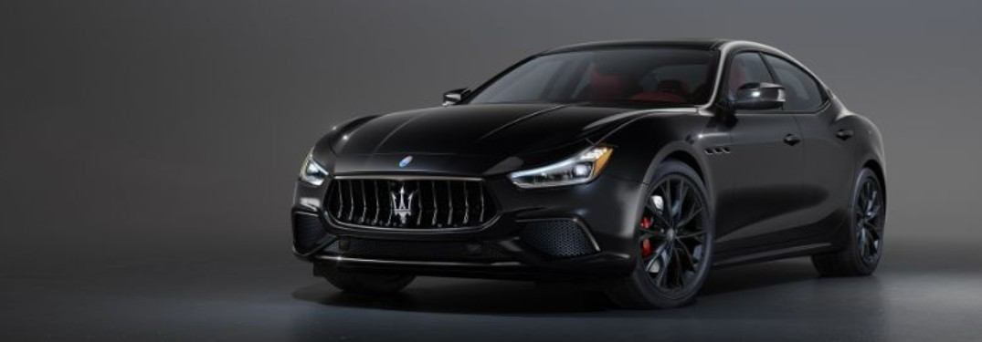 2020 Maserati Ghibli front and side profile