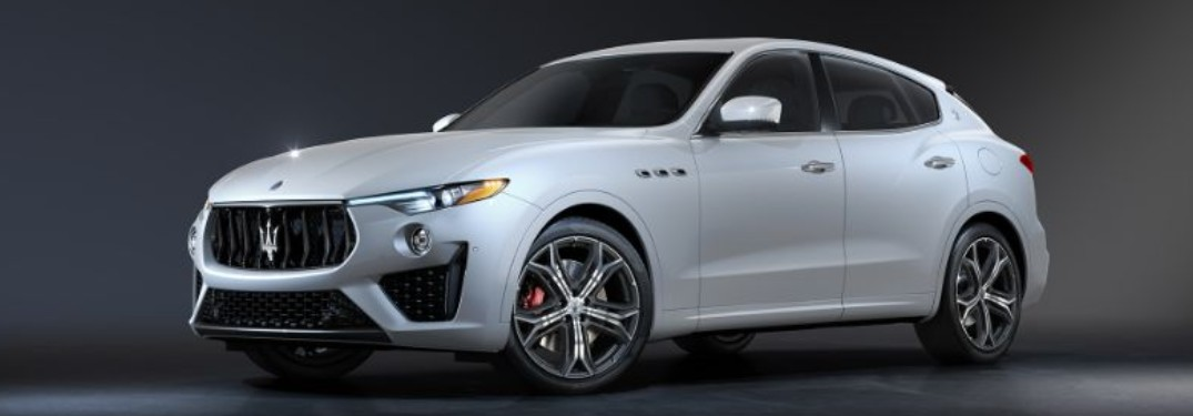 2020 Maserati Levante front and side profile