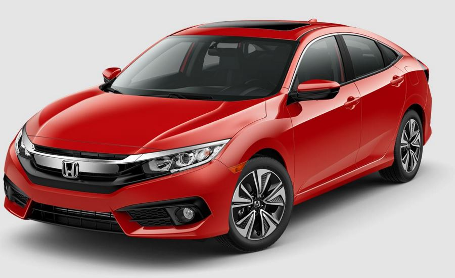 2017 Honda Civic Sedan Rallye Red_o - Meridian Honda