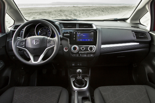 2017 Honda Fit Interior Overview O Meridian Honda