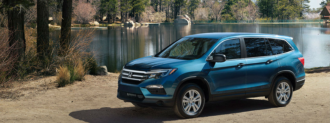 2017 Honda Pilot Color Choices and Trim Level Spectrum