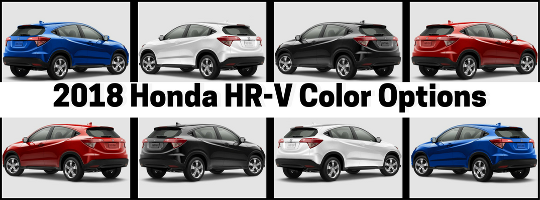 2018 Honda HR-V Color Options Banner
