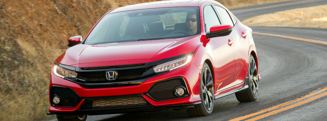 When will the 2018 Civic Hatchback arrive to dealerships?