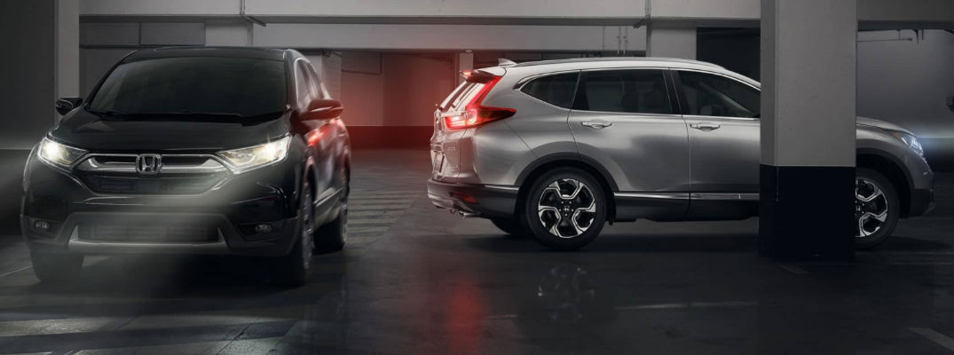 Cross Rear traffic on 2017 Honda CR-V