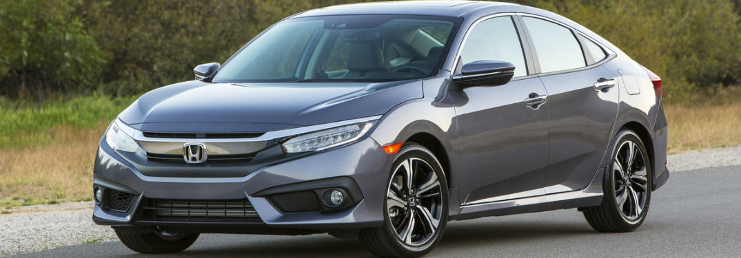2018 Honda Civic in Grey