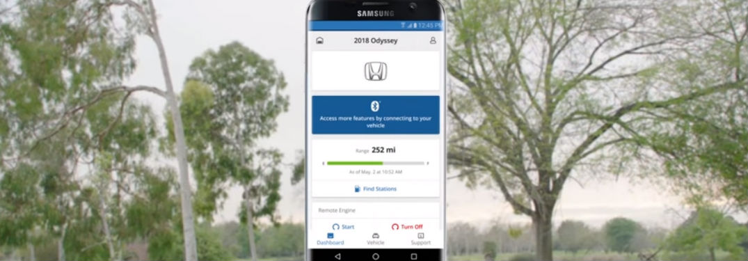 How Do You Use Hondalink Remote Start In The 2018 Honda Odyssey