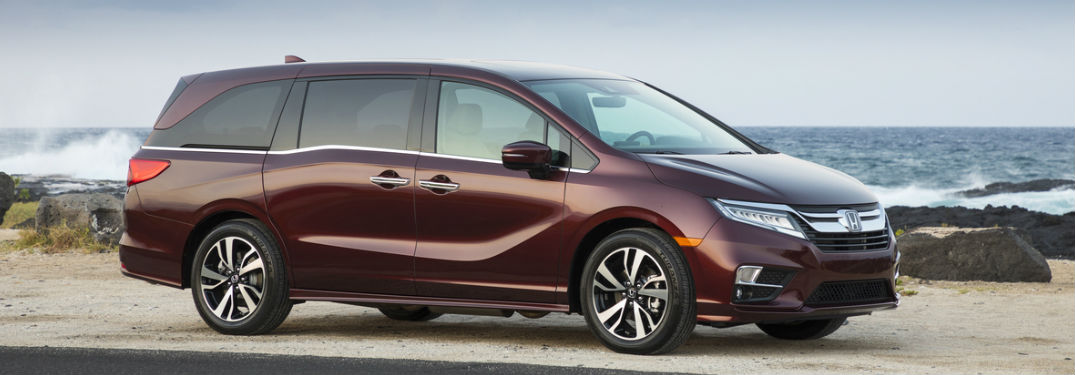 2018 Odyssey in Maroon on a beach