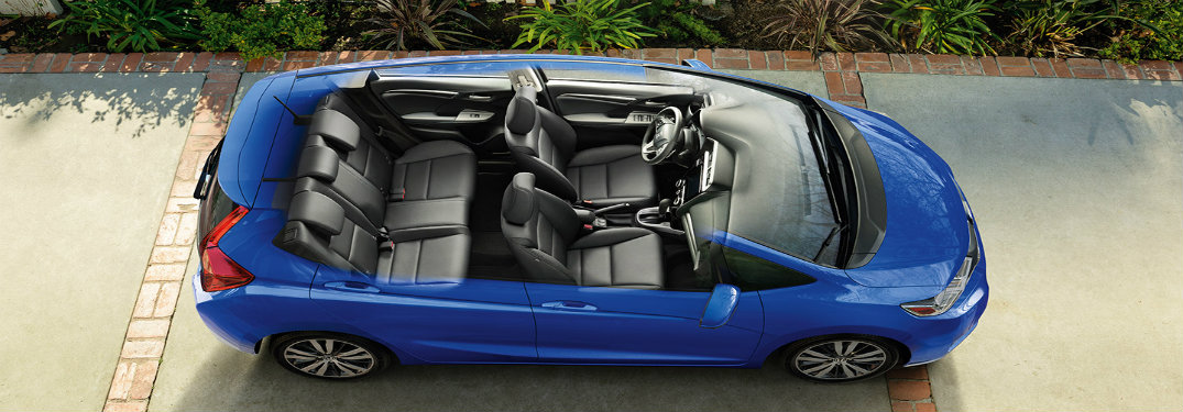 Honda Fit Cabin Bird's Eye View