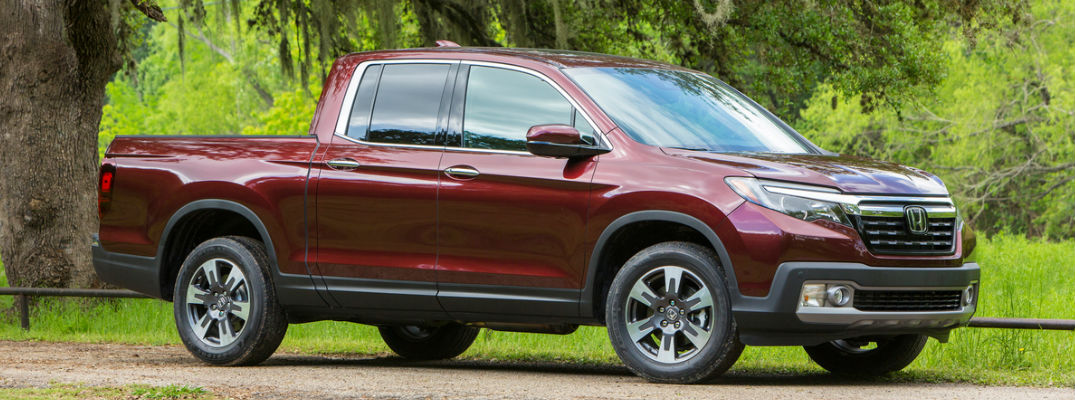 2018 Ridgeline Side View