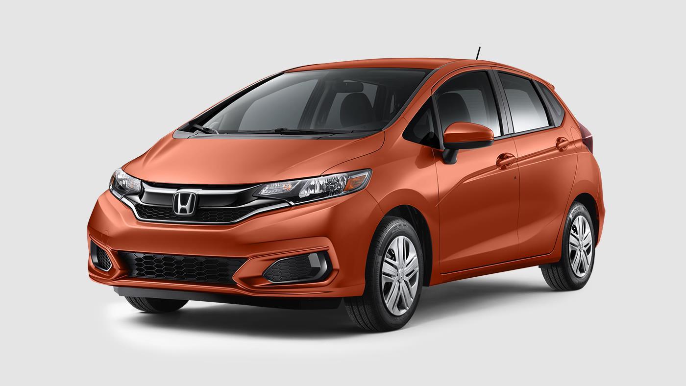 2018 Honda Fit Orange Fury O Meridian Honda