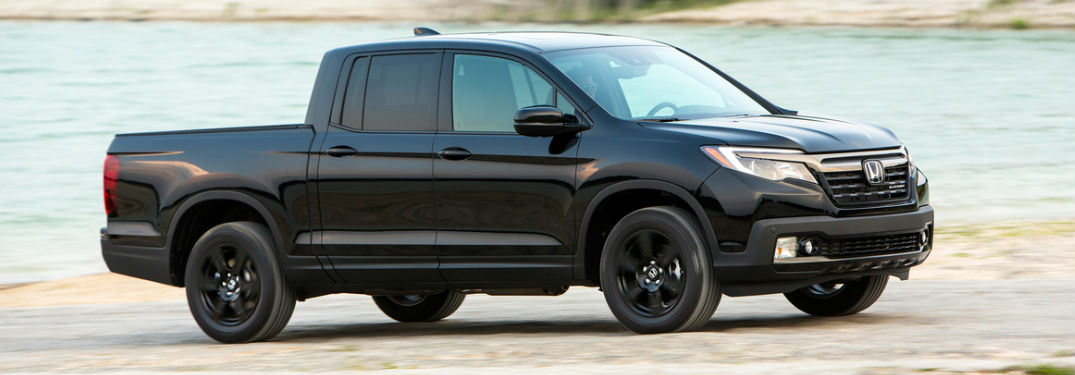 2019 Ridgeline Black Edition Side View