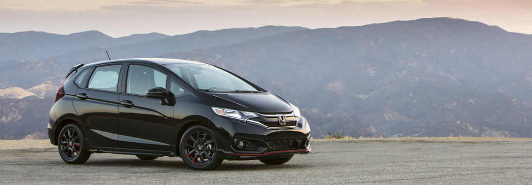 2019 Honda Fit in Crystal Black Pearl