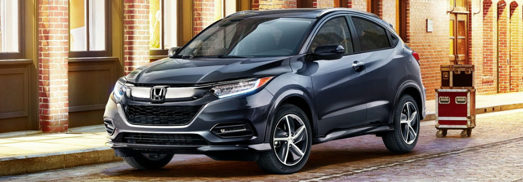 2019 Honda HR-V in Blue Front View