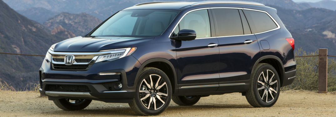 What safety features does the 2019 Honda Pilot have?