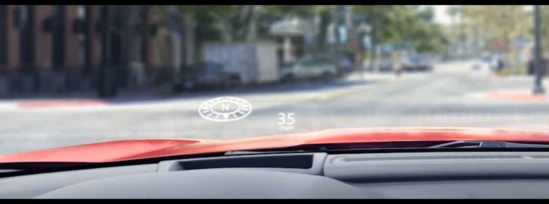 Honda HUD helps drivers keep their eyes on the road while on the road