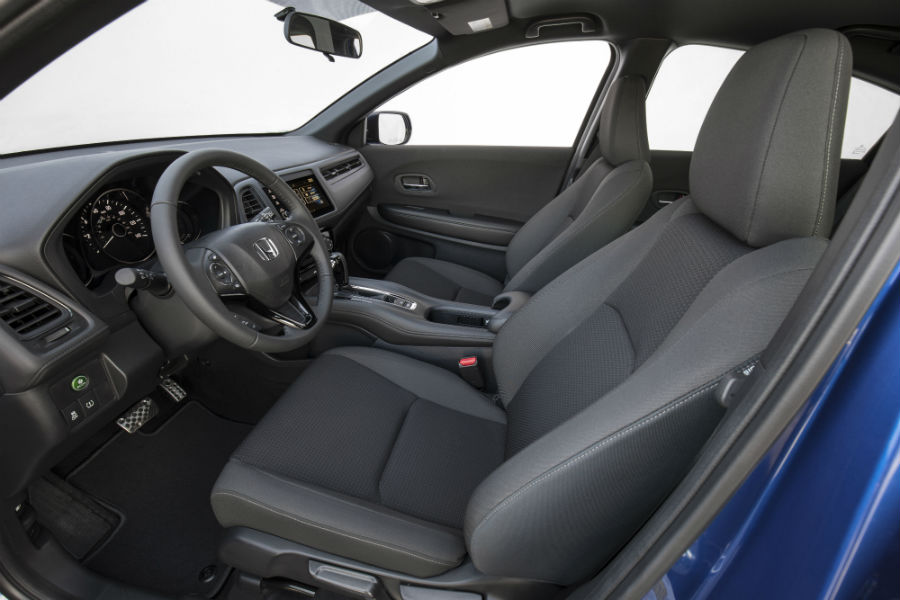 A photo of the front seats in the 2020 Honda HR-V.