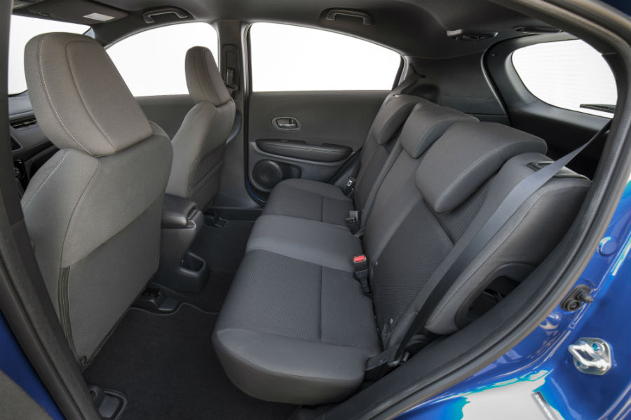 A photo of the rear seats in the 2020 Honda HR-V.