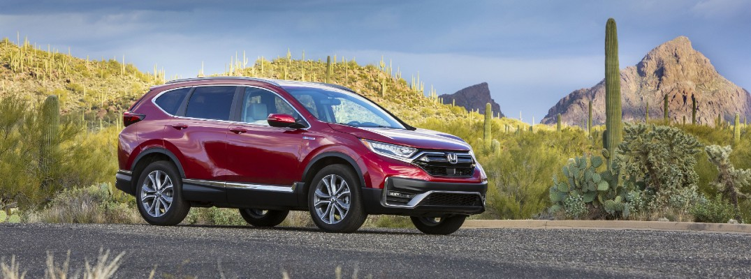Honda delivers strong efficiency scores in the 2020 CR-V Hybrid