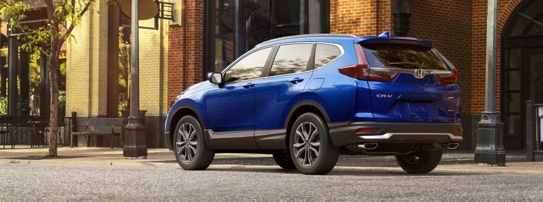 Take a look at how the CR-V stacks up against a few rivals