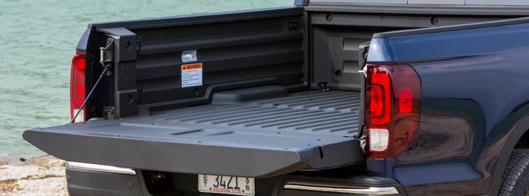 A photo of the cargo box used by the Honda Ridgeline.