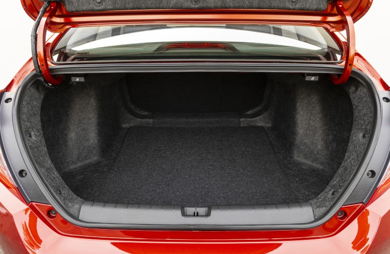 The trunk in the 2021 Honda Civic Sedan is one of the segment's largest.