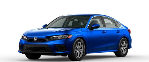 2022 Honda Civic Sedan Aegean Blue Metallic