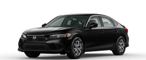 2022 Honda Civic Sedan Crystal Black Pearl